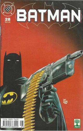 Imagem 1 de 1 de Batman 28 Dc Comics Editora Abril 1999