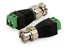 Plug Conector P4 Bnc Borne Kre P Cftv Camera Borne Kit 10 Un