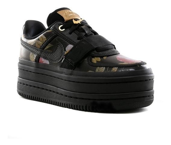 Zapatillas Nike Air Force Vandal 2k Lx Floral Black - Mujer