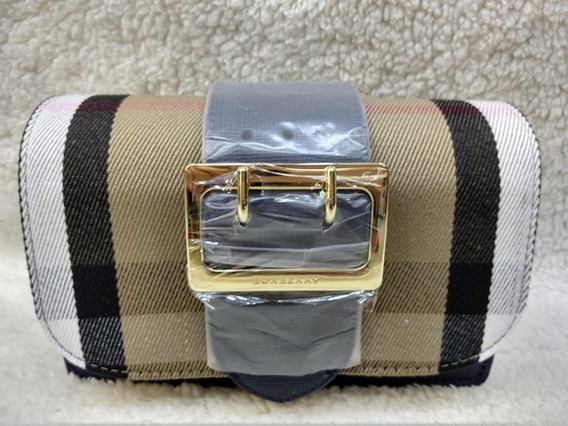 Bolsa Burberry Madison Azul
