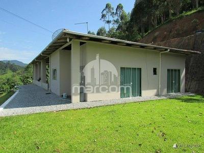 Chácara, 02 Dormitórios, Amplo Terreno - Mte-243