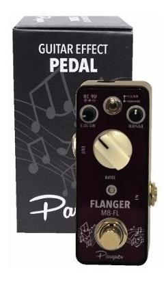 Pedal Efecto Flanger Parquer Para Guitarra Electrica Cuota