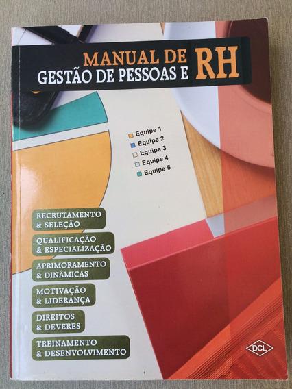 Manual De Gestão De Pessoas E Rh
