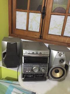Radio Sony Funcionando Con Detalles