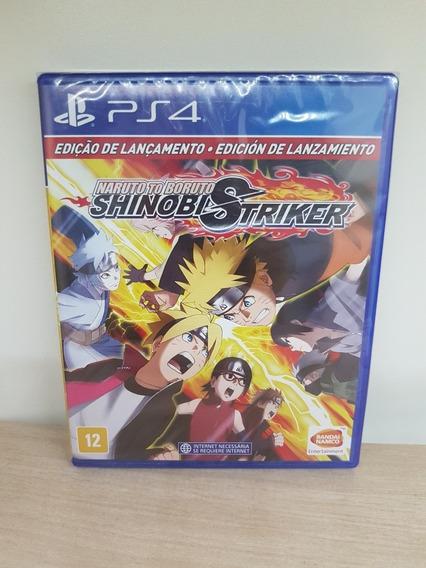 Naruto To Boruto Shinobi Striker Edição Lan Ps4 Novo Lacrado