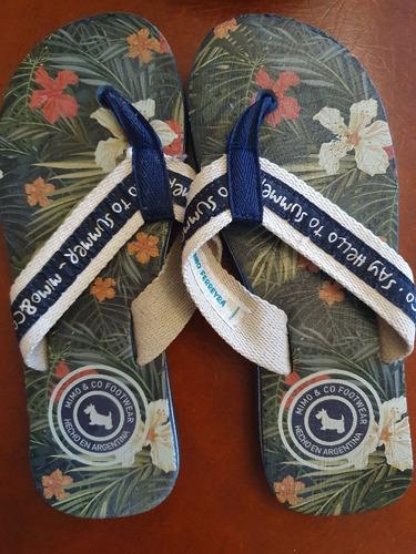 Ojotas Mimo No Cheeky Nike adidas Nene Nena Niños 21cm 1/2