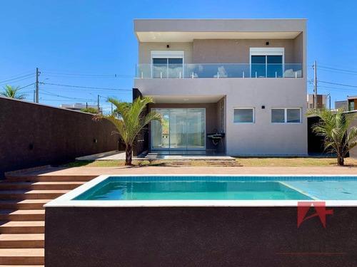 Imagem 1 de 18 de *linda Casa Com 3 Suítes Com Varandas À Venda, Por R$ 1.280.000 - Condomínio Portal Horizonte - Bragança Paulista/sp - So0954