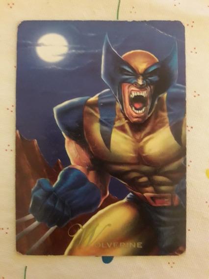 Tarjeta Carta Pepsi Cards Marvel Wolverine