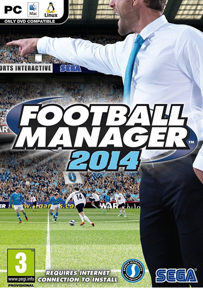 Game Pc Football Manager 2014 - ( Mídia Física / Original / Novo / Lacrado )