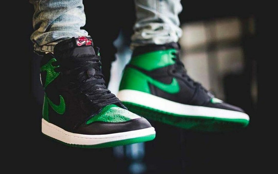 Tênis Nike Air Jordan 1 Retro High Og Pine Green 38