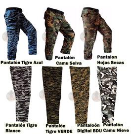 Pantalón Militar Gotcha Táctico Uso Rudo Camuflajeados