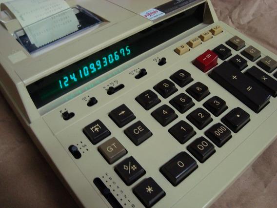 Calculadora C/ Bobina Impressão Papel Sharp Cs2181 Robusta