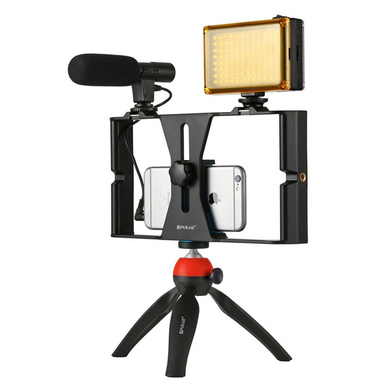 Kit Filmagem Youtuber Blogger Celular Profissional Completo