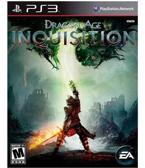 Dragon Age Inquisition-mídia Física Original/playstation 3