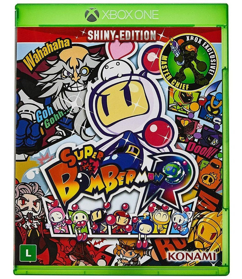 Super Bomberman R Xbox One Mídia Física Novo Lacrado