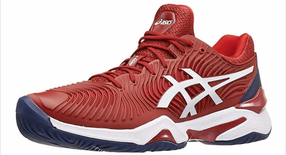 Zapatilla Asics Gel Court Ff Novak Bordo/blanco