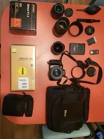 Camera Nikon D5100 + Kit De Lentes Profissionais