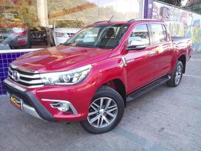Toyota Hilux Dupla Srx 2016 Vermelha Autom Top 40000 Km