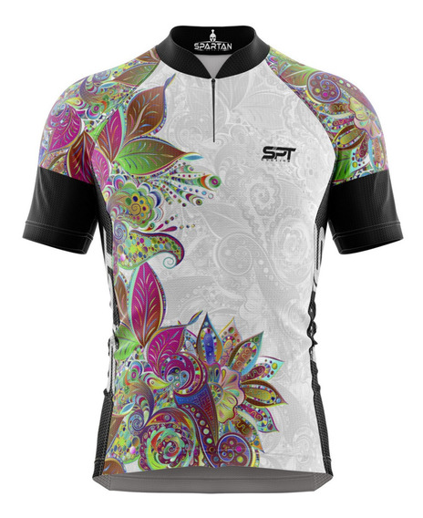 Camisa Mtb Ciclista Spartan New (f) Ref 07 - Proteção Uv50+