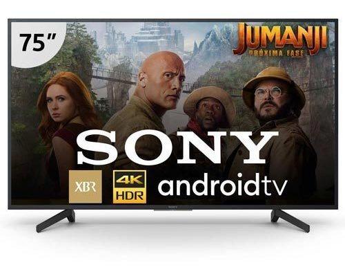Smart Tv 4k Sony Led 75 Wi-fi - Xbr-75x805g