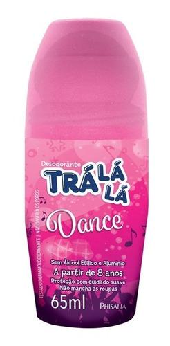 Desodorante Roll On Trá Lá Lá 65 Ml Dance (kit/03 Un)
