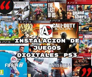 Juegos Digitales Ps3 Instalacion En Tienda