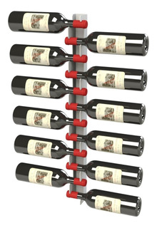 Adega Para Vinho Suporte Prateleira Vertical 12 Garrafas 12g