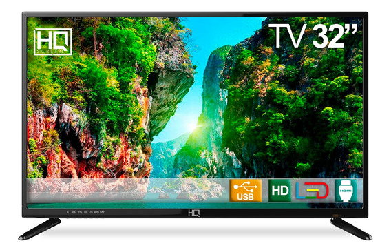 Tv Led 32 Hq Hqtv32 Hd Conv. Digital 3 Hdmi 2 Usb