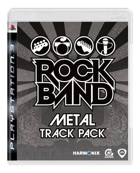 Rock Band Metal Track Pack Ps3 Mídia Física Pronta Entrega