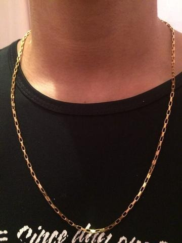 Corrente Cartie Masculina Ouro18k 11grs 60cm
