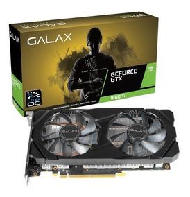 Placa De Vídeo Galax Gtx 1660ti 6gb 1-click Oc Ddr6 192bits