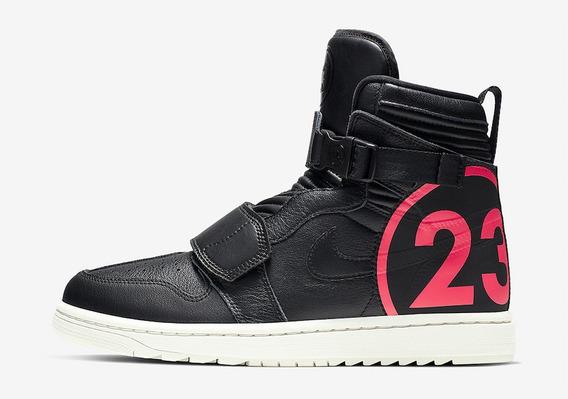 Tenis Nike Air Jordan 1 High Moto Black 100%original Nike