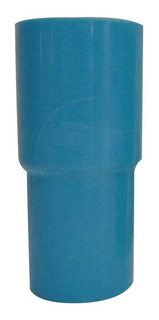Vaso Plastico Largo Mariella Azul Pack