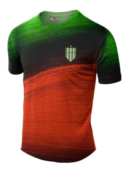 Remera Slim Fit Club Atletico Banfield Ranwey Fr092