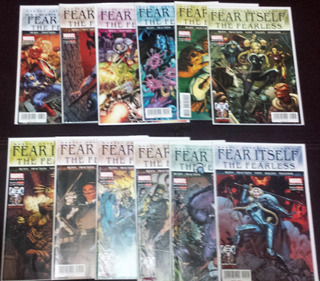 Comic Fear Itself: The Fearless 1-12 Completo Serie Limitada