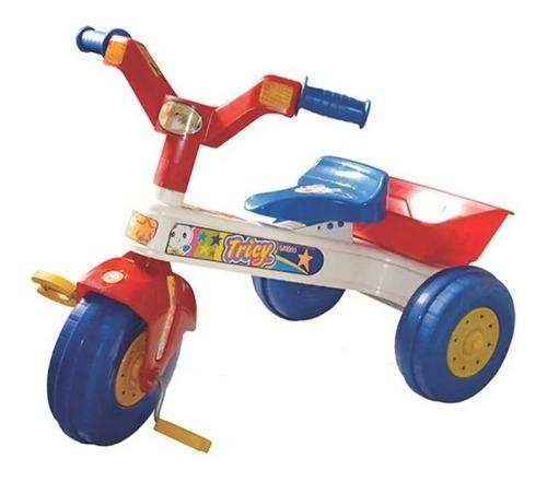 Triciclo Con Canastilla Bebe Niño Niña 2 A 5 Años