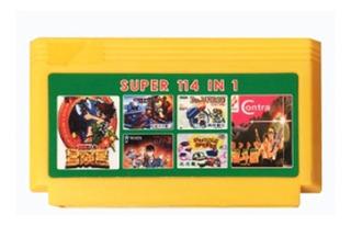 Cartucho De Family Super 114 En 1 New Once