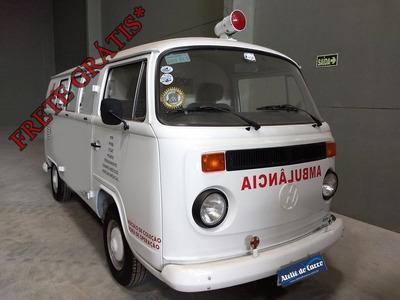 Vw Kombi Ambulância Papa Tudo 96 - Original Para Coleção
