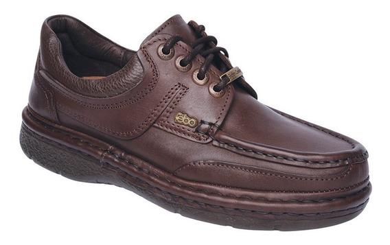 Zapato Acordonado C/costura Cuero - Feb829