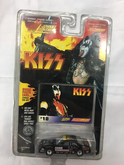 Johnny Lightning Kiss Gene Simmons # 18 Original. Replay