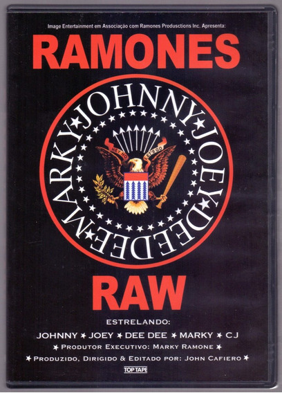 Dvd Ramones - Raw (orig. Nacional) Cr. Registrada 10