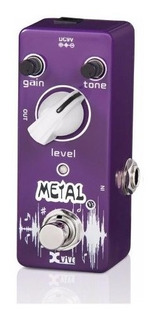 Pedal Xvive Para Guitarra Metal Distorsion V3