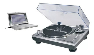 Bandeja Tocadiscos Vinilo Audio Technica At Lp120 Usb - Gris