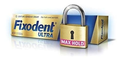 Adhesivo Dental Fixodent Ultra Máxima R - g a $792