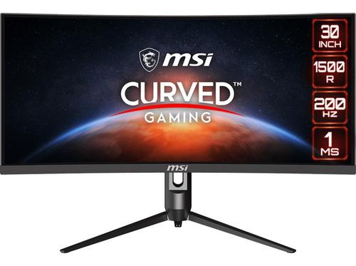 Monitor Curvo Gamer Msi 30  Wfhd Va Optix Mag301cr 1ms 200hz