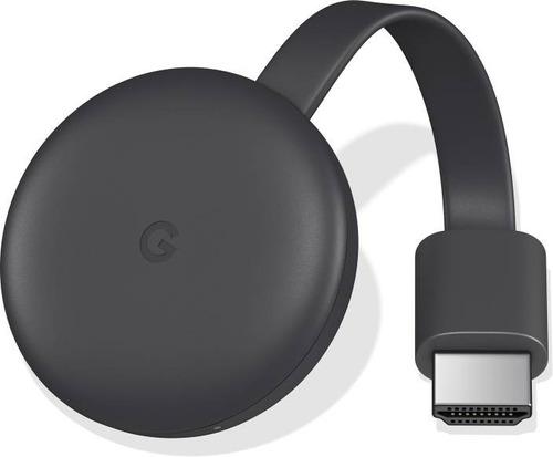 Google Chromecast 3ra Generacion Smart Tv Black