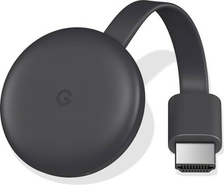 Google Chromecast 3ra Generacion Smart Tv Black