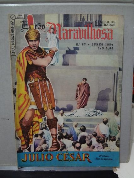 Gibi Edição Maravilhosa Nº 87 Julio Cesar Shakespeare 1954