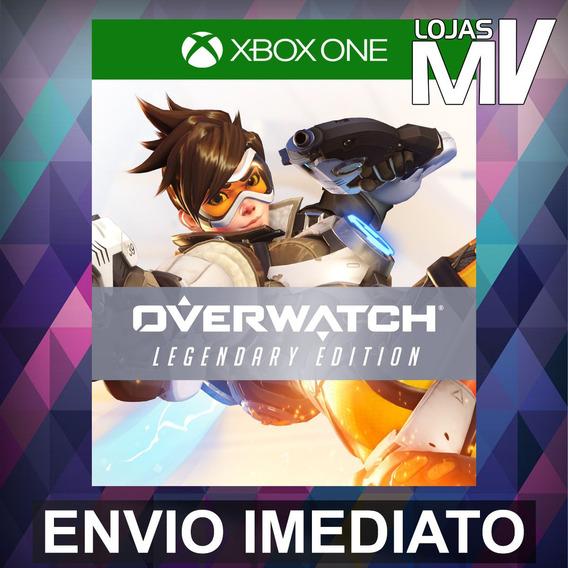 Overwatch Legendary Xbox One Código 25 Dígitos