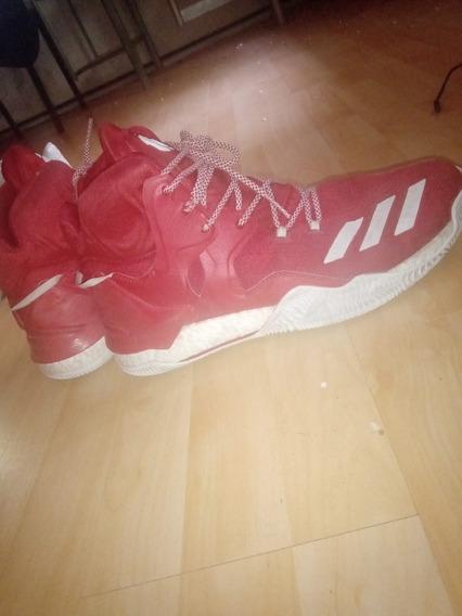 Zapatillas D Rose 7 Rojas